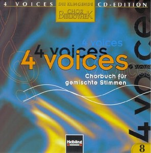 4 voices - CD Edition. Die klingende Chorbibliothek. CD 8. 1 Aud