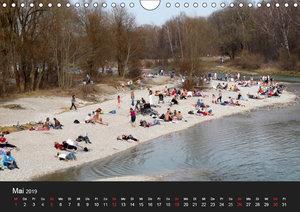 Die Isar - Von Scharnitz bis M?nchen (Wandkalender 2019 DIN A4 q