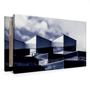 Premium Textil-Leinwand 75 cm x 50 cm quer Damp