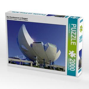 CALVENDO Puzzle Das Kunstmuseum in Singapur 2000 Teile Lege-Größ