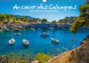 Au coeur des Calanques (Calendrier mural 2015 DIN A3 horizontal)