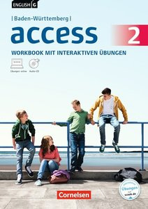 English G Access Band 2: 6. Schuljahr. Baden-Württemberg. Workbo