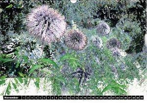 Blumen - Digital (Wandkalender immerwährend DIN A3 quer)