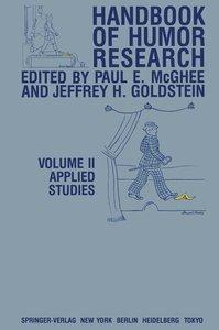 Handbook of Humor Research