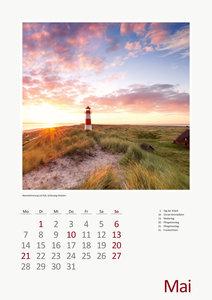 Flüsse, Seen und Mee(h)r Foto-Wandkalender 2018 DIN A3 hoch