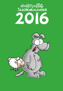 Nichtlustig Taschenkalender 2016