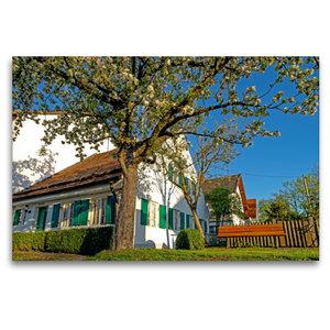Premium Textil-Leinwand 120 cm x 80 cm quer Meilerhaus