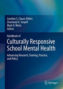 Handbook of Culturally Responsive School Mental Health