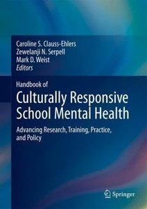 Handbook of Culturally Responsive School Mental Health
