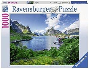 Ravensburger 197118 - Auf den Lofoten - Puzzle, 1000 Teile