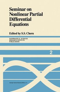 Seminar on Nonlinear Partial Differential Equations