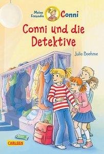 Conni-Erzählbände, Band 18: Conni und die Detektive (farbig illu