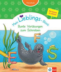 Klett Mein Lieblings-Block Bunte Vorübungen zum Schreiben