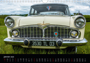 AUTO MOBILE (Calendrier mural 2020 DIN A4 horizontal)