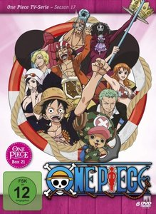 One Piece - TV-Serie. Tl.21, 4 DVD