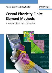 Crystal Plasticity Finite Element Methods
