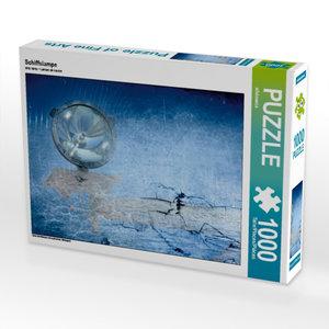 Schiffslampe 1000 Teile Puzzle quer