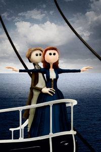 Premium Textil-Leinwand 30 cm x 45 cm hoch Titanic