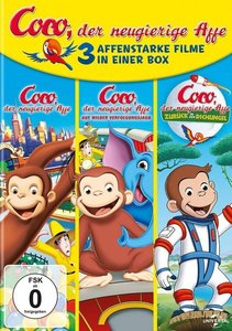 Coco,Der Neugierige Affe 1-3