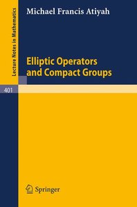 Elliptic Operators and Compact Groups