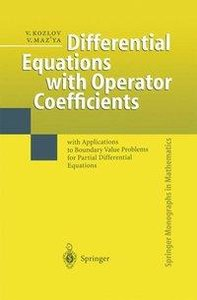 Differential Equations with Operator Coefficients