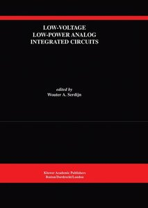 Low-Voltage Low-Power Analog Integrated Circuits