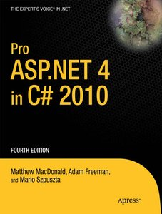 Pro ASP.NET 4 in C sharp 2010, 2 Bde.