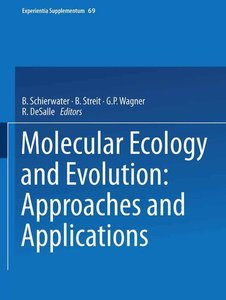 Molecular Ecology and Evolution: Approaches and Applications