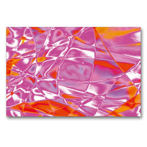 Premium Textil-Leinwand 90 cm x 60 cm quer Vibrationen