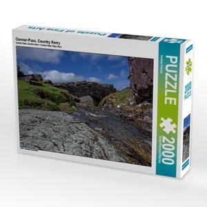 CALVENDO Puzzle Connor-Pass, Country Kerry 2000 Teile Lege-Größe
