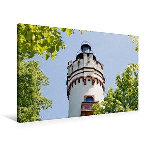 Premium Textil-Leinwand 90 cm x 60 cm quer Antonius-Turm