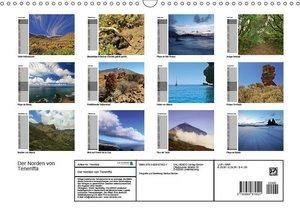Der Norden von Teneriffa (Wandkalender 2019 DIN A3 quer)