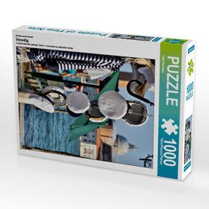 Ein Motiv aus dem Kalender Venedig 1000 Teile Puzzle hoch