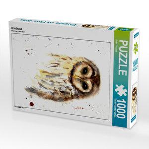 Waldkauz 1000 Teile Puzzle hoch