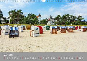 Küstenimpressionen von den Ostseeinseln Rügen und Usedom