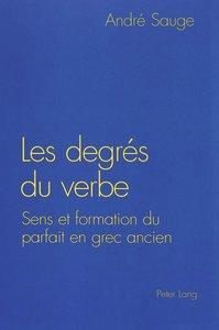 Les degrés du verbe