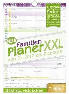 FamilienPlaner XXL 18 Monate 2017/2018