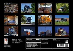 KENWORTH W900B - Gigant der Straße (Posterbuch DIN A3 quer)