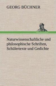 Naturwissenschaftliche und philosophische Schriften, Schülertext