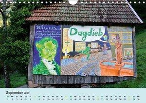 Der Heuh?tten-Kalender (Wandkalender 2019 DIN A4 quer)