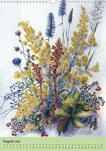 Die Flora in Baden-Württemberg (Wandkalender 2020 DIN A3 hoch)