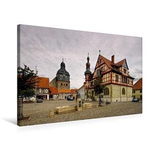 Premium Textil-Leinwand 75 cm x 50 cm quer Harzgerode