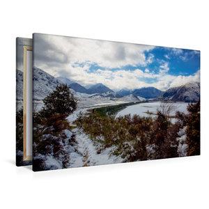 Premium Textil-Leinwand 120 cm x 80 cm quer Craigieburn Forest P
