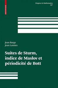 Suites de Sturm, indice de Maslov et périodicité de Bott