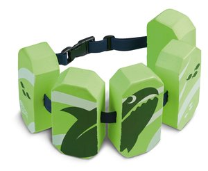 Schwimmgürtel 5Pads Sealife grün, 2-6 J.