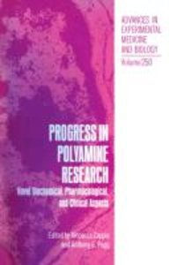 Progress in Polyamine Research