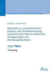 Methode zur messtechnischen Analyse und Charakterisierung volume