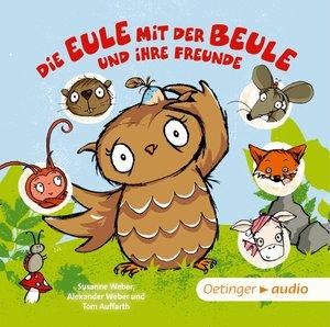 Die Eule mit der Beule und ihre Freunde Liederalbum, 1 Audio-CD