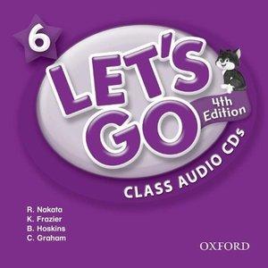 Let's Go 6. 4th edition. Class Audio CDs