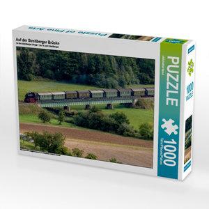 Auf der Streitberger Brücke 1000 Teile Puzzle quer